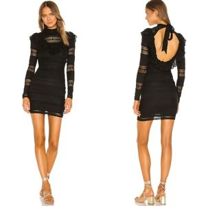 Tularosa Nadia Long Sleeve Mini Dress